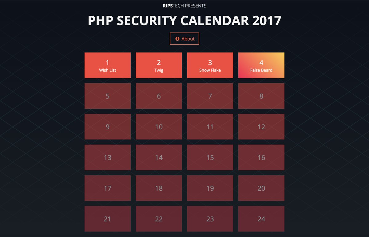 RIPS-PHP-SECURITY-CALENDAR-2017学习记录.md